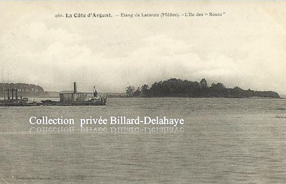 ETANG DE LACANAU ( Médoc), La Côte d'Argent.