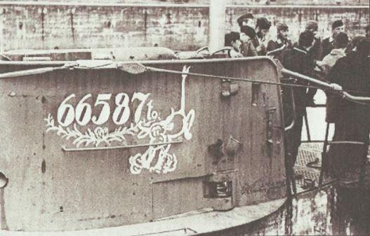 """BETASOM -  Bordeaux - Le Kiosque ou la """" Baignoire"""" de l'U-47du Cdt PRIEN."""