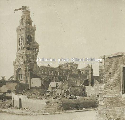 Guerre 1914/1918 - BASILIQUE D'ALBERT (Somme).