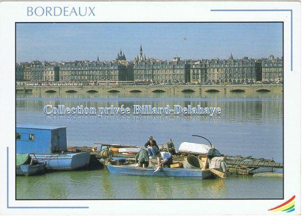 LES PECHEURS D'ALOSES, de Bordeaux au port de Goulée.