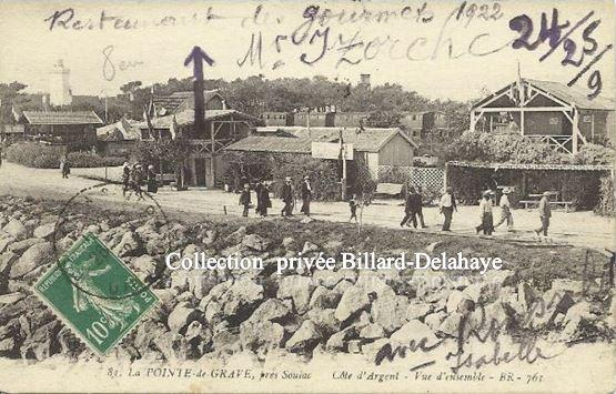 81 - SOULAC - LA POINTE DE GRAVE (Côte d'Argen) Vers 1920.