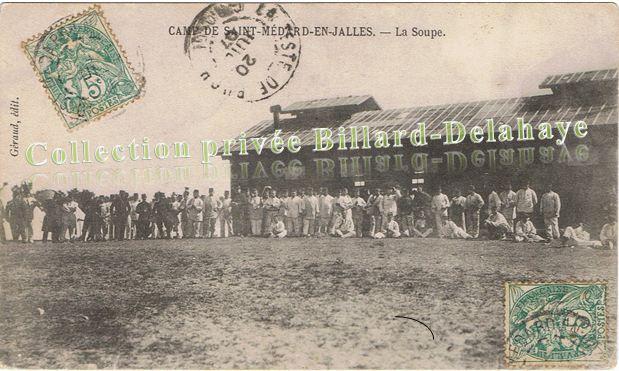 La Soupe.CPA ayant circulé le 20.07.1907.
