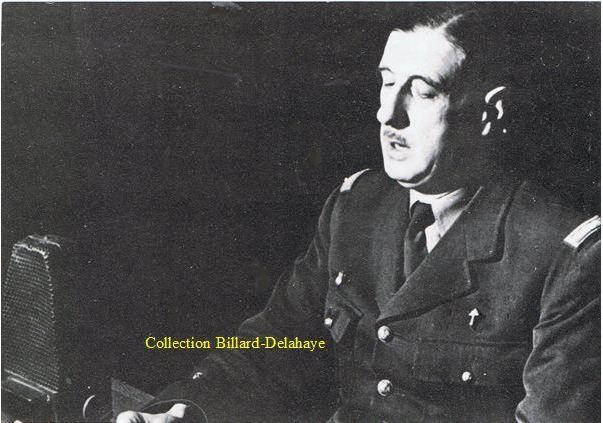 Le Général de Gaulle redonne espoir à beaucoup de français.