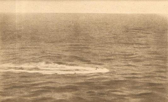 Guerre 1914/1918 - SOLDATS AMERICAINS - En Mer - 26 et 28 juin 1917