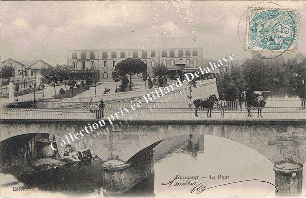 LAVANDIERES sous le pont à Graulhet (81).
