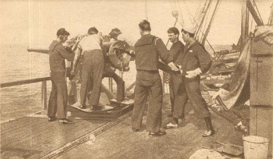 Guerre 1914/1918 - SOLDATS AMERICAINS - En Mer. 26 et 28 juin 1917