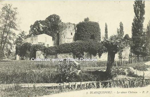 3 - BLANQUEFORT - LE VIEUX CHATEAU (La Forteresse). JOURNEES DU PATRIMOINE.
