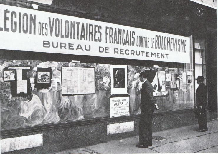 Légion des volontaires Français.
