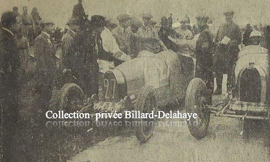 Marcel LEHOUX sur Bugatti.