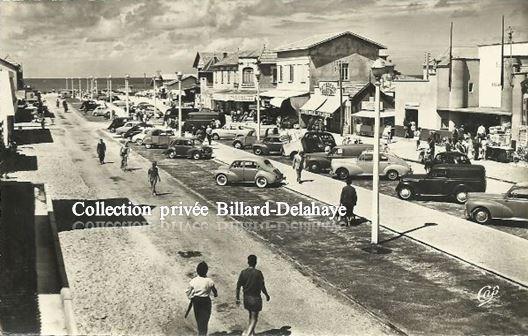 LACANAU - OCEAN - LES ALLEES DE LA PLAGE VERS 1960 -