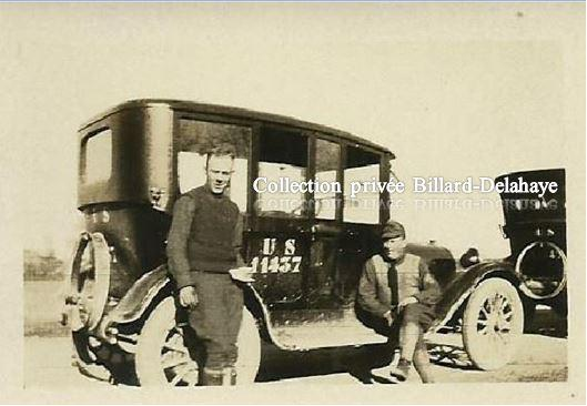 Guerre 1914/1918 -  SOLDATS AMERICAINS - HAWLEY et SHARP.