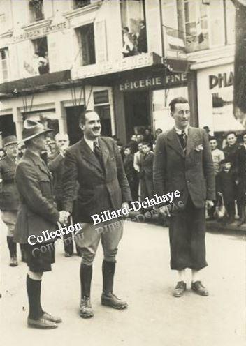 PHOTO BONDIER BERGERAC 1944 - EPICERIE FINE - CHIRURGIEN DENTISTE.