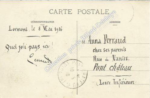 LORMONT  (Gironde)  8 mai 1916