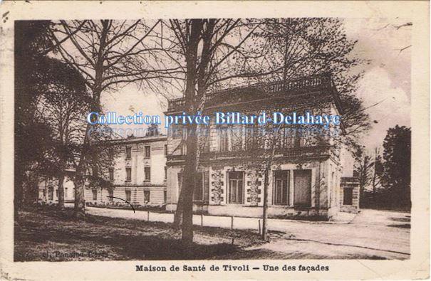 """Maison de Santé TIVOLI.Cpa écrite en 1932 """"l'opération est réussie""""."""