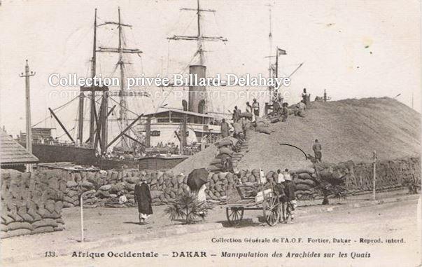 DAKAR (Sénégal). Carte postale envoyée le 20.10.1930.