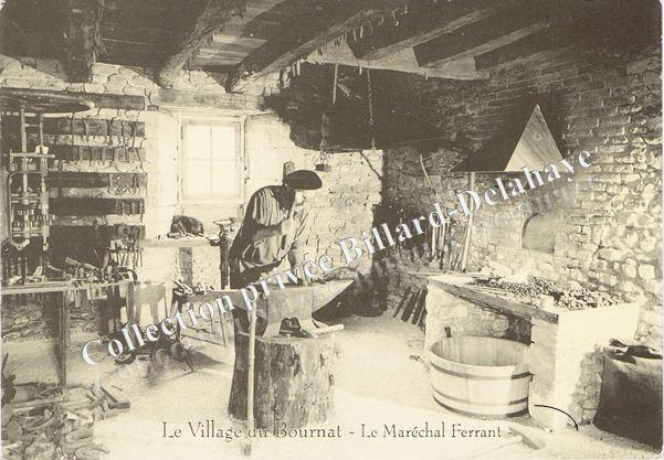 Maréchal-ferrant village du Bournat-Le Bugue sur Vézère-24-