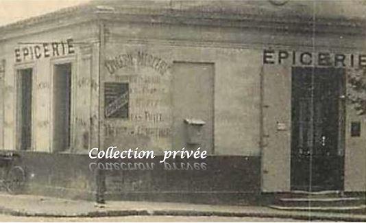 CACHAC - Angle de la  route de Pauillac et de la rue Mathurin Olivier.