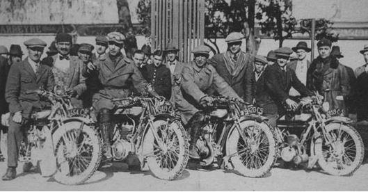 Paris - Nice en 1926