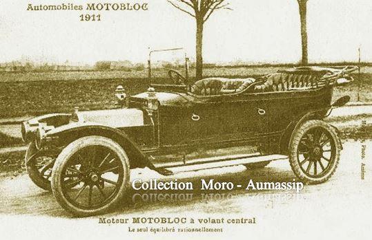 AUTOMOBILES MOTOBLOC - BORDEAUX - 1911.