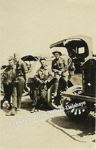 Guerre 1914/1918-  SOLDATS AMERICAINS - MOORE, CARR, HAWLEY- SHARP