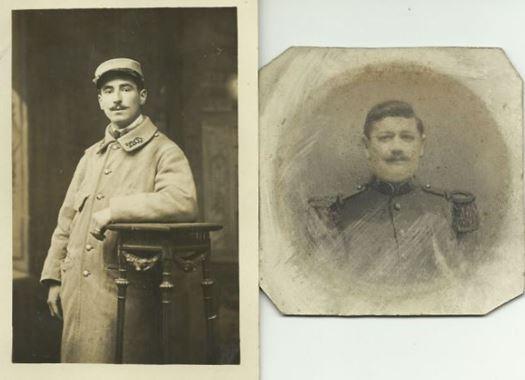 1914 - 1918 - Albert-Louis BILLARD et Henri-Félix DELAHAYE