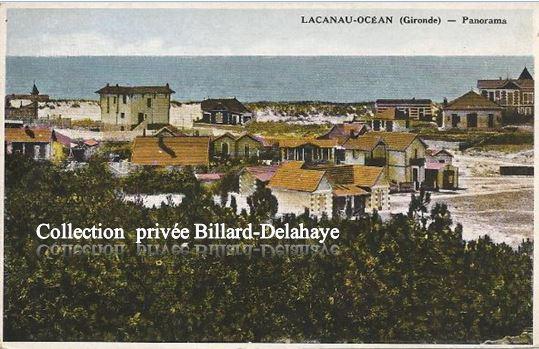 LACANAU-OCEAN (Gironde). PANORAMA VERS 1923 ?