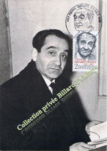 Pierre,Isaac,Isidore, MENDES-FRANCE (1907-1982) - Collection VIOLLET -