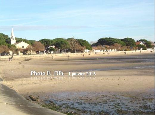ANDERNOS Bassin d'Arcachon 33 - 1er janvier 2016.