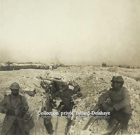 Guerre 1914/1918 - PLAINE DE SOUAIN (Marne).