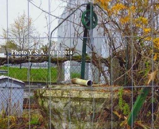 BLANQUEFORT : FIN du PN 14 avec son puits. Avenue du XI novembre.