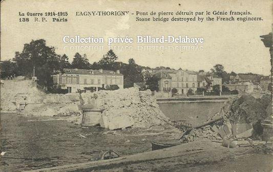Guerre 1914/1915 - EN FRANCE - LAGNY-THORIGNY - Courrier du 10 mai 1915.
