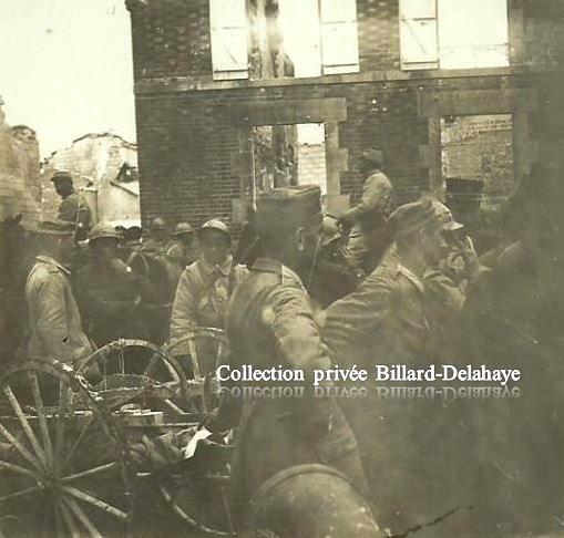 Guerre 1914/1918 - PRISONNIERS ALLEMANDS EN FRANCE -