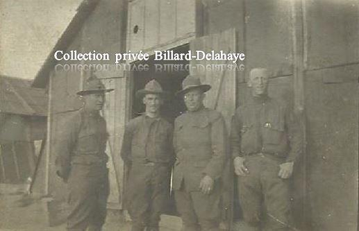 Guerre 1914/1918 - SOLDATS AMERICAINS - WINTERS, SHARP, SMITH, SLIPE -