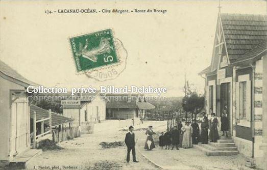 174 - LACANAU-OCEAN (Côte d'Argent) ROUTE DU BOCAGE.