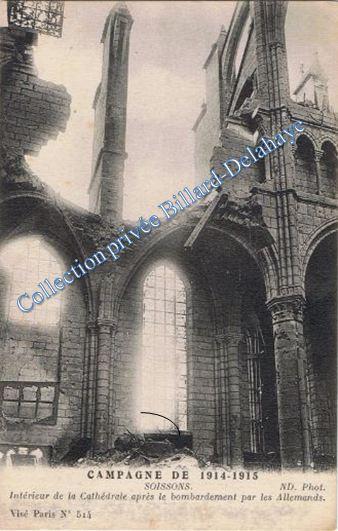 SOISSONS. Campagne de 1914-1915. Corcy (Aisne), le 21.10.1915.
