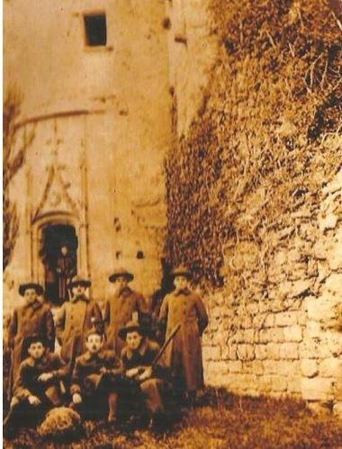 Soldats US à la Forteresse 1917 1918 - World War I