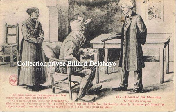 LE COUP DES SANGSUES en 1937 à M. CHARRON les Aydes (45).