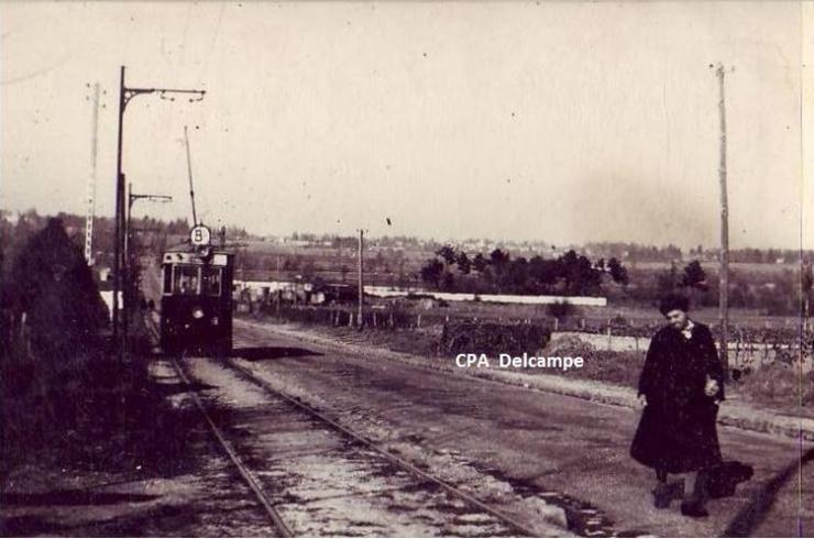 Tram, CPA collection Delcampe