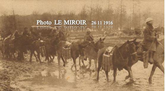 NOVEMBRE 1916 - Avance britannique sur les rives de l'Ancre - Somme.