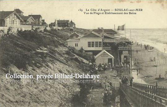 159 - SOULAC - sur - MER  (Côte d'Argent) VERS 1900.